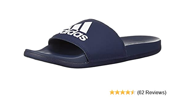 official photos 7f589 b2b14 adidas Men s Adilette Cf+ Logo Slide Sandal