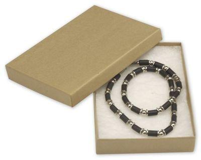 Amazoncom Natural Kraft Jewelry Boxes 5 14 x 3 34 x 78 Home