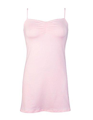 Nightdress Color RJ Pink Light Pure Ladies 001 41 xRqwp1qXB