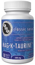 Mag K Taurine (100 Comprimés) (Magnésium Potassium taurine) AOR04246 Marque: Recherche avancée AOR orthomoléculaire