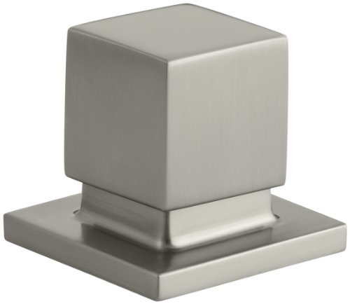 - Kohler K-14677-BN Loure Bath- or Deck-Mount Diverter, Vibrant Brushed Nickel