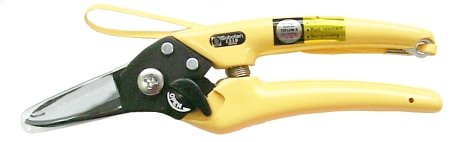 Saboten 1218 Pruning Shears (Yellow)