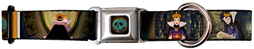 [Buckle-Down Snow White Evil Queen Poses Buckle Clip Dog Collar, 1