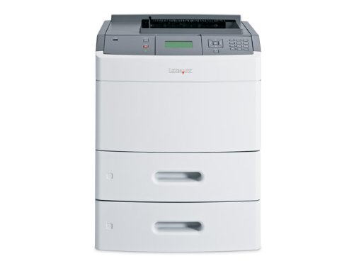 (T652DTN Mono Laser Printer 50 Ppm Duplex Network & USB)