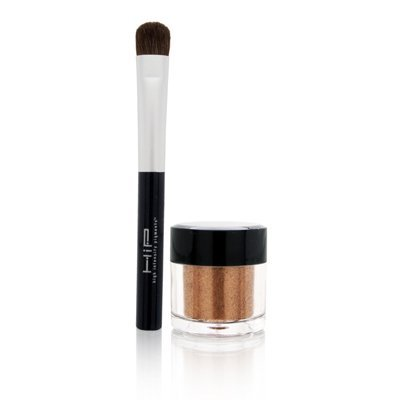 L'Oreal HIP High Intensity Pigments Shocking Shadow Pigments with Professional Brush Eye Shadows, 812 Phosphorescent - Loreal Hip High Intensity Pigments