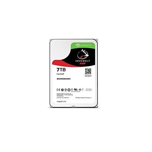 Seagate 7TB IronWolf NAS SATA 6Gb/s NCQ 256MB Cache 3.5-Inch Internal Hard Drive (ST7000VN0002)