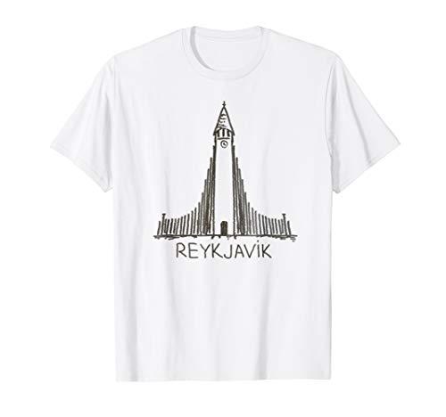 - Reykjavik City Capital Iceland shirt Tshirt tee