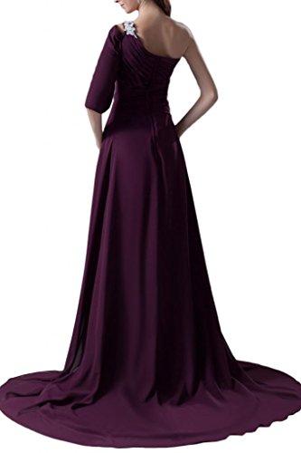 Sunvary abiti sera Fashion New d'onore damigella donna Blu da da spalle per Shiny r0r1q