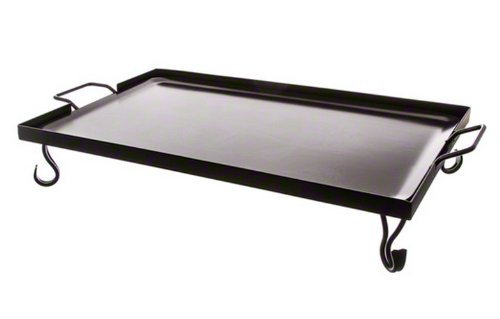 "American Metalcraft (GS27) 27"" x 16"" Rectangular Wrought Iron Griddle by American Metalcraft"