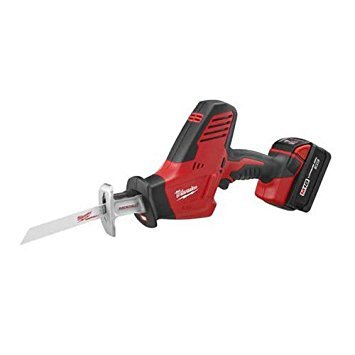 - Milwaukee 2625-21 M18 18V Hackzall Cordless One-Handed Reciprocating Saw Kit