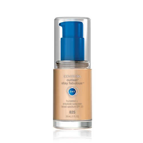 COVERGIRL Outlast All-Day Stay Fabulous 3-in-1 Foundation Buff Beige, 1 oz
