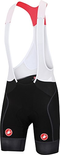 Castelli Free Aero Race Bib Short - Men's Black/Black, XL from Castelli