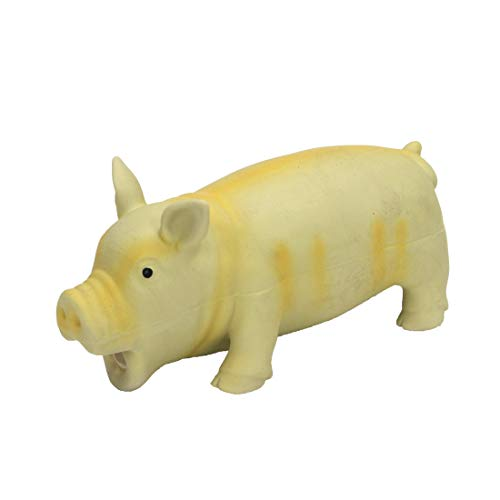 Coastal Pet Products Rascals Latex Grunting Pig Dog Toy 7.5