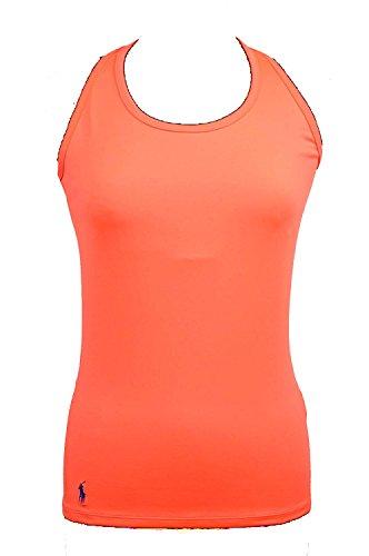 Polo Ralph Lauren Women's Crossback Tank top Orange Size Medium