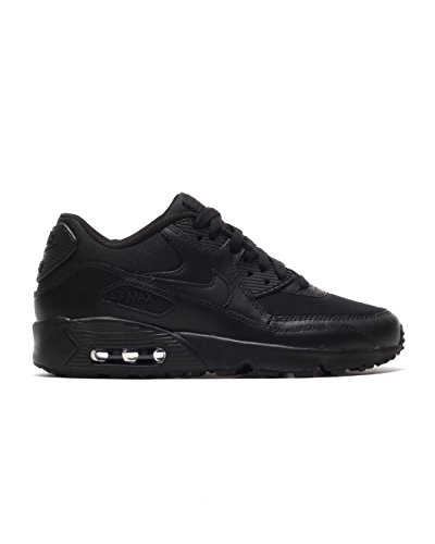 new product a9222 e09b9 Galleon - NIKE Air Max 90 Mesh GS - 833418001 - Color Black - Size  6.0