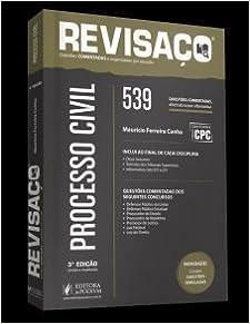 Book Processo Civil: 539 Questoes Comentadas Alternativa por Alternativa - Colecao Revisaco