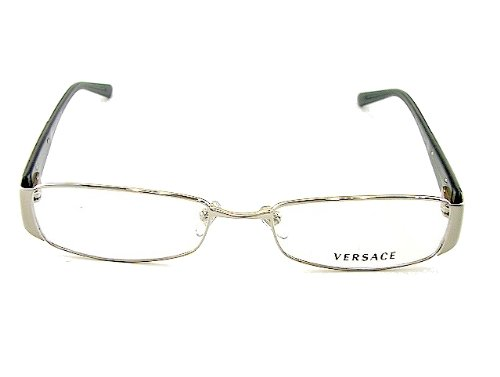 7f65db70dcb7 Versace Ve 1084 (1000) Silver 50Mm 17Mm  Amazon.co.uk  Clothing