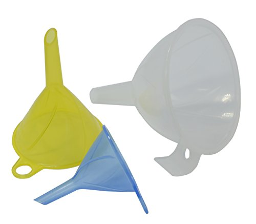 Excelity®Kitchen Diffuser Bottle Funnel 3 Pack With Different Size(3.5