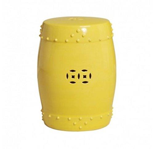 Asain Yellow Drum Garden Stool