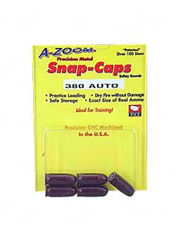 Pistol Metal Snap Caps 380Auto 5pk, Outdoor Stuffs