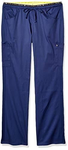 edaa78cbd1a Cherokee Luxe Sport Women's Mid Rise Straight Leg Pull-On Scrub Pant