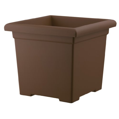 Akro Mils ROS15500E21 Accent Planter Chocolate