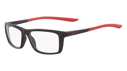 606 Matte - Eyeglasses NIKE 5040 606 MATTE BURGUNDY ASH