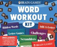 Brain Games Word Workout Kit -