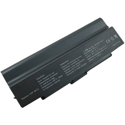 Click to buy Laptop/Notebook Battery for Sony VAIO VGN FE870E/H - 9 cells 6600mAh Black - From only $26.4