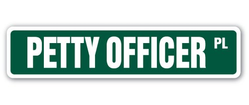 """18/"""" CHIEF PETTY OFFICER Street Sign cpo canadian navy newIndoor//Outdoor"""