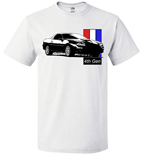 Aggressive Thread 4th Gen Chevy Camaro T-Shirt White