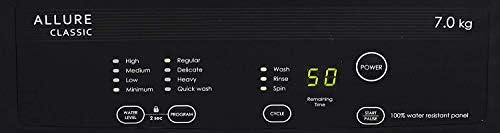 Godrej 7 Kg 5 Star Fully-Automatic Top Loading Washing Machine (WTEON ALR C 70 5.0 ROGR, Grey, Rollercoaster Wash)