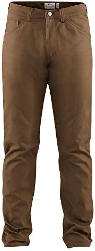 FJALLRAVEN męskie spodnie Greenland Canvas Jeans M: Odzież
