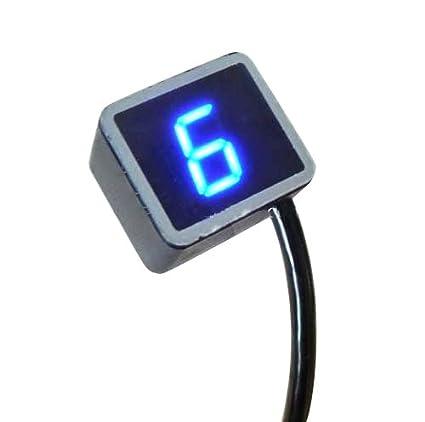 Denshine 8 Speed Universal Digital Led Gear Indicator Motorcycle