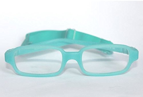 Kids Bright Eyes 42-14-128 Teal Frame with Matching - Bright Kids Eyes