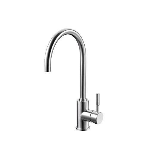 YAWEDA The Kitchen Water Tank is Cold and hot and can be redated, Washing Dishes, faucets, Stainless Steel Kitchen faucets 001