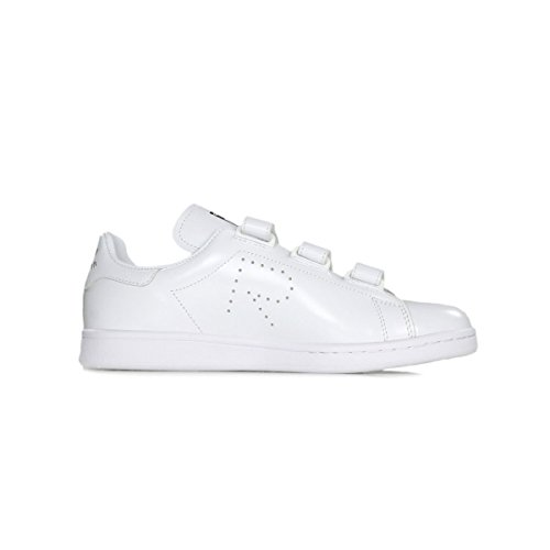 adidas by RAF Simons Unisex RAF Simons Stan Smith Comfort Footwear White/Footwear White/Core Black 4 M UK