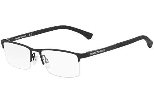 - Emporio Armani EA1041 - 3175 Eyeglasses Rubber Black 55mm