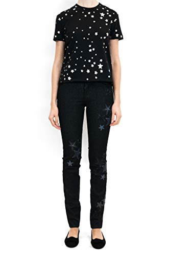Femme Red Coton Valentino Noir NR3DE01C369BD0 Jeans n7w5Pz8wqx