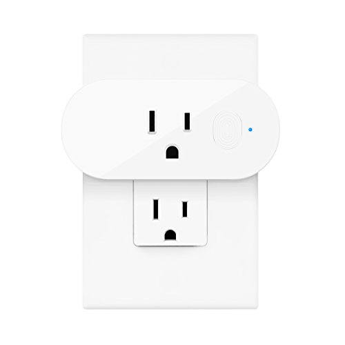 Wifi Smart Plug, ELEGIANT Mini Outlet Compatible with Alexa Echo Google Home and IFTTT, Energy Monitoring and Timer Function Smart Socket, No Hub Required, 2.4GHz Wifi Networks 16A