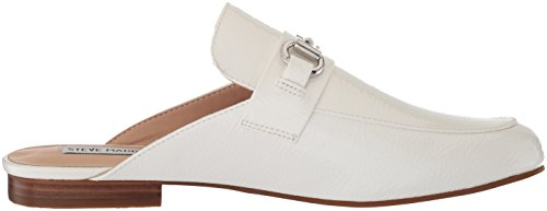 Steve Madden Vrouwen Kandi Slip-on Loafer Wit Lak