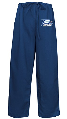 (Georgia Southern Scrubs Pants Drawstring Bottoms for Him or Her! XS)