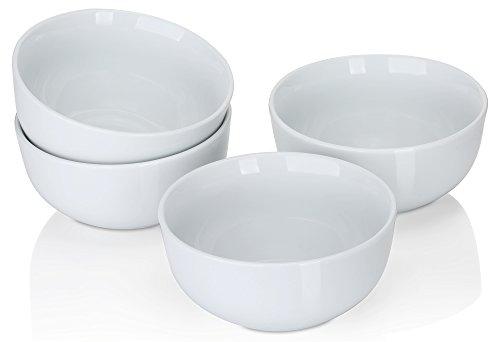 White 20 Oz Pasta Bowl - 5