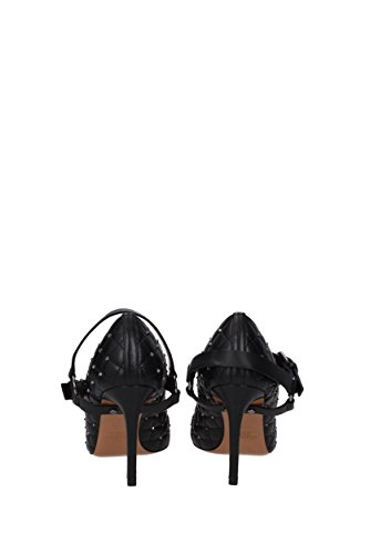 VALENTINO Pumps 0S0E37BWM Leather Women Black GARAVANI UK rrFxwOq