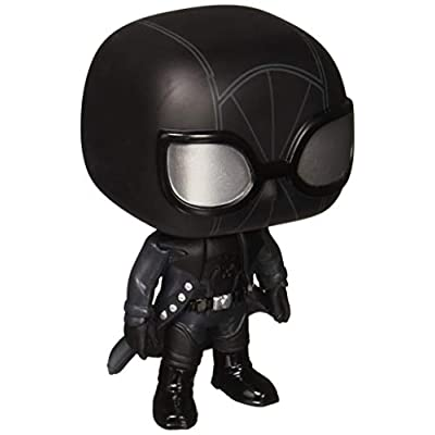 Funko Pop Marvel: Animated Spider-Man Movie - Spider-Man Noir Collectible Figure, Multicolor: Toys & Games