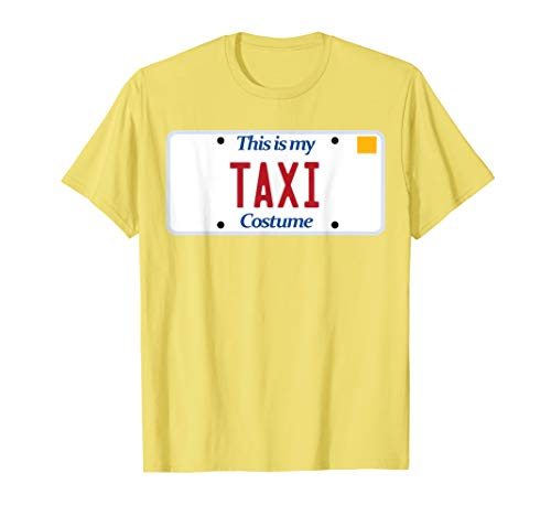 Taxi t-shirt; generic costume tshirt; silly Halloween tee]()
