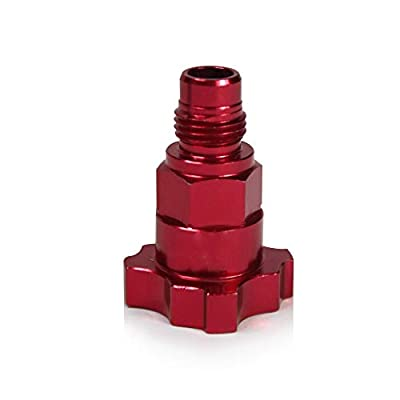 Insta Finish First Generation Liners & Lids Adapters for Iwata Guns, Male Thread, Color Red (2 adapters per Pack): Automotive