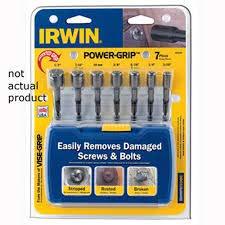 OKSLO Hanson 3/8 Power-Grip Screw/Bolt Extractor ()