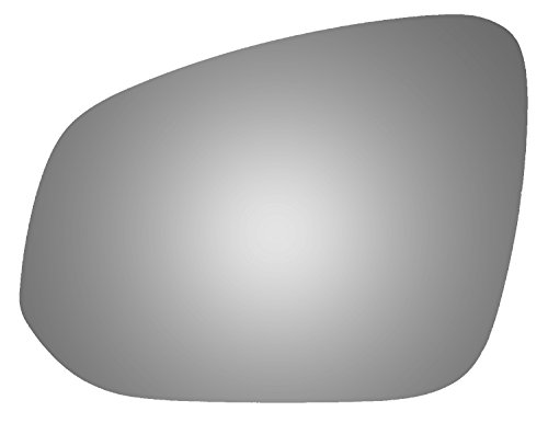 Burco 4518 Flat Driver Side Replacement Mirror Glass for Toyota 4Runner, RAV4, Tacoma (2013, 2014, 2015, 2016, 2017)