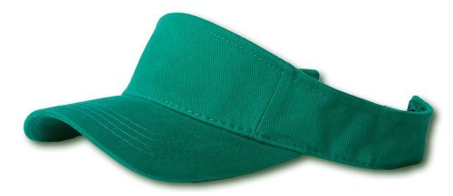 New Plain Sports Visors (Comes In Many Different Colors), Kelly - Color Green New